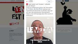 Gérard Miller tente de justifier la diffusion de la fake news sur l'évacuation de