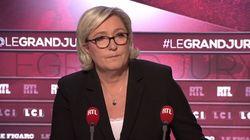 Marine Le Pen raille