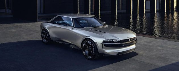 Le concept Peugeot E-Legend, star du