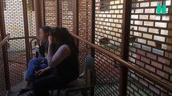 On a pu filmer une visite au centre de rétention pour femmes migrantes du Palais de