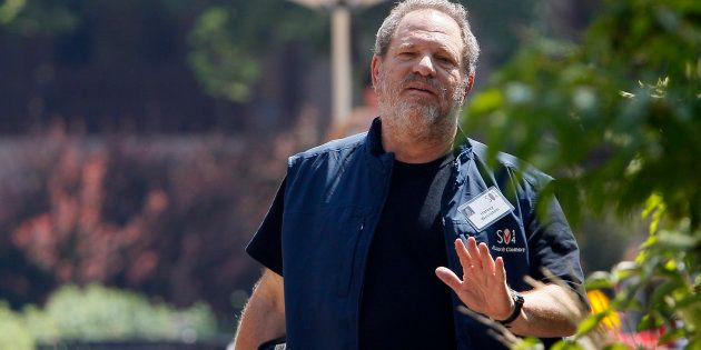 Harvey Weinstein le 9 juillet 2014, à la Sun Valley,
