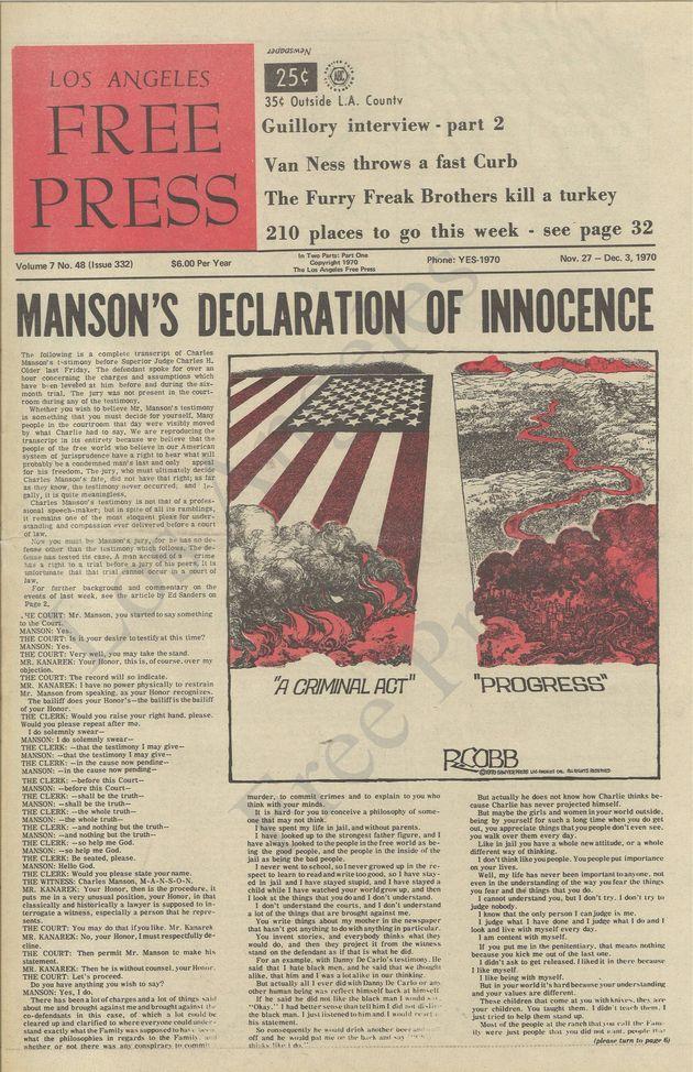 Mort de Charles Manson: Ces admirateurs qui l'ont soutenu jusqu'à ses dernières