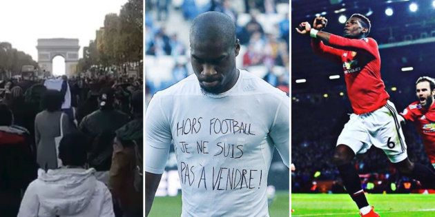 Pogba, Aurier, Kondogbia... Les footballeurs s'indignent après les images de vente d'esclaves en