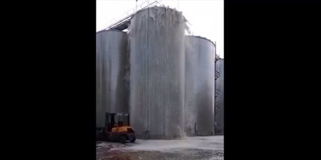 En Italie, 30 000 litres de prosecco perdus dans cette explosion en