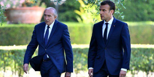 La démission de Gérard Collomb est le signe alarmant d'une présidence