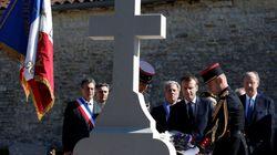 Les images du recueillement de Macron sur la tombe du général à Colombey les Deux