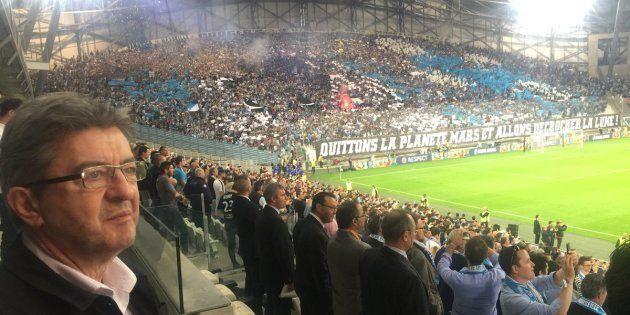 Marseille-Salzbourg: Mélenchon pour la première fois en tribune au