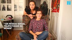 Camille et Justine testent le réseau social du