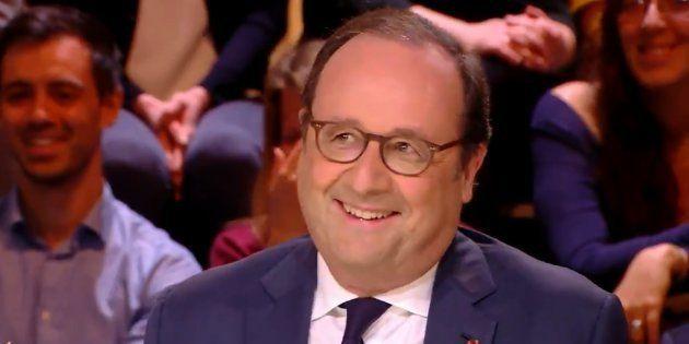 La sortie de Hollande sur le couple Trump-Macron,