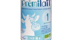 ATTENTION : Rappel de 2000 boîtes de lait infantile Prémilait 1er