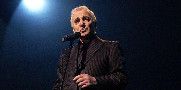 Charles Aznavour était le dernier des géants de l'âge d'or de la chanson