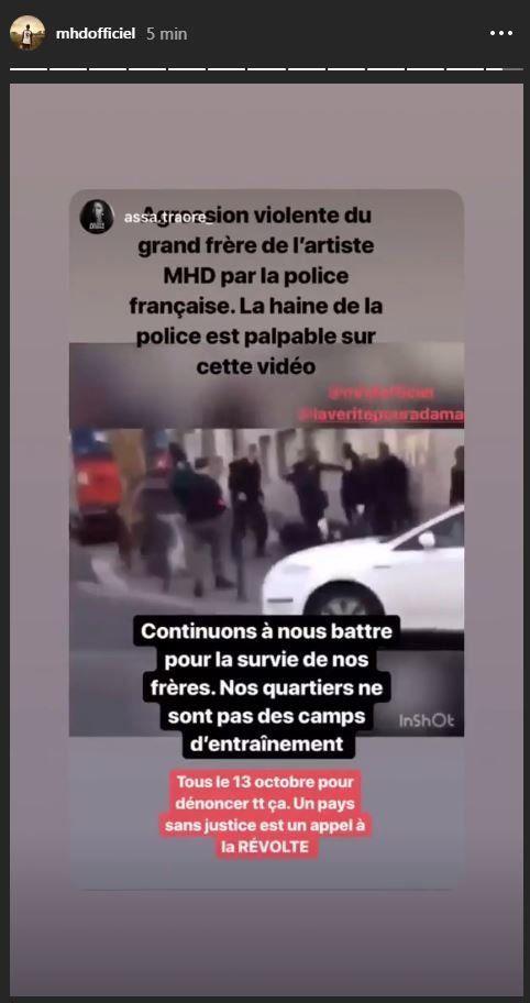 MHD publie la vidéo de