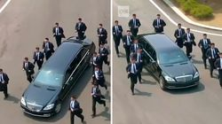 Les gardes du corps de Kim Jong Un ont pu faire leur premier footing côté