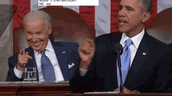 Obama a souhaité un joyeux anniversaire à Biden de la manière la plus virale