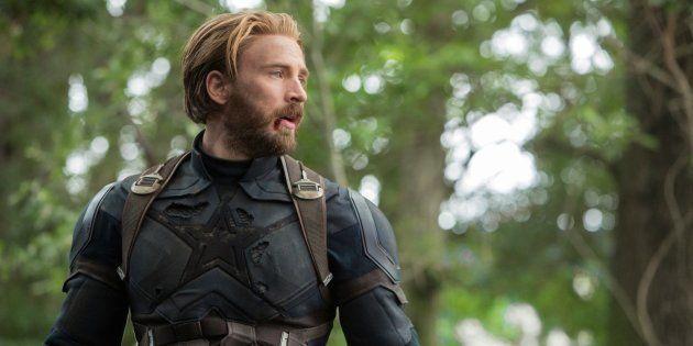 Chris Evans incarne Captain America