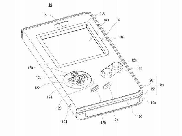 La coque Game Boy pour smartphone, breveté par