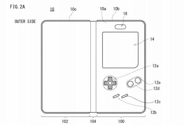 La face extérieure de la coque Game Boy pour