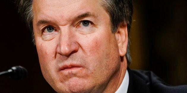 Brett Kavanaugh au Sénat à Washington le 27 septembre