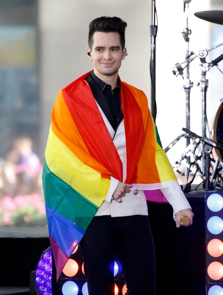 Panic! At The Disco's Brendon Urie opened up about identifying as pansexual in an interview with Paper magazine last year.&nb