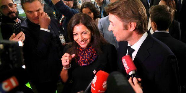Anne Hidalgo, la maire de Paris, ce 21 novembre, lors du congrès de l'Association des Maires de France.