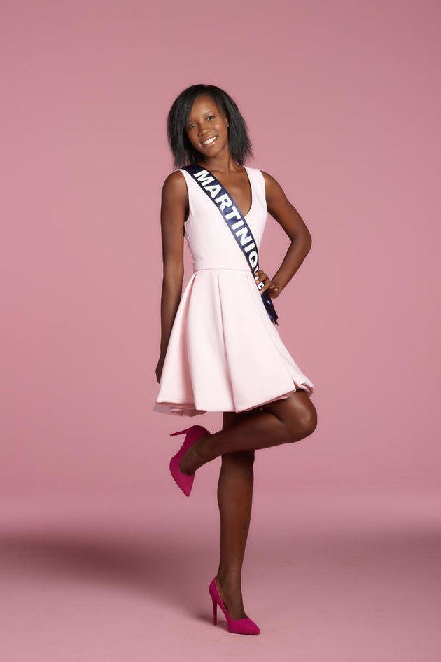 Miss Martinique Laure-Anais Abidal Studio candidates Miss France