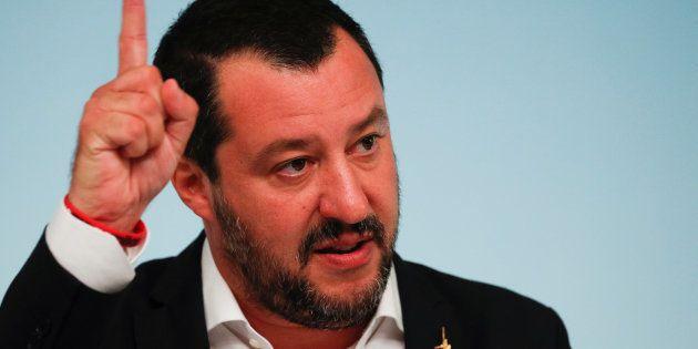 Matteo Salvini à Rome le 24 septembre