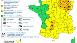 12 départements en vigilance orange orages et