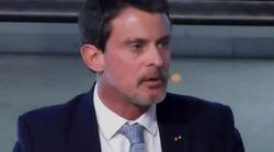 Manuel Valls pointe un