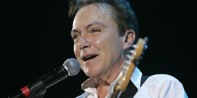 David Cassidy performs live in concert at Hammersmith Apollo,