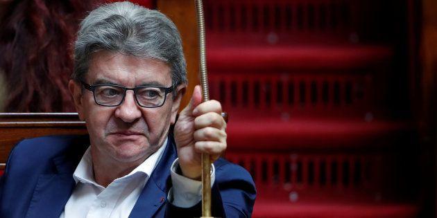 Jean-Luc Melenchon à l'Assemblée nationale le 18