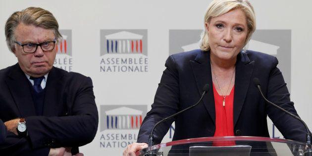 Marine Le Pen à l'Assemblée