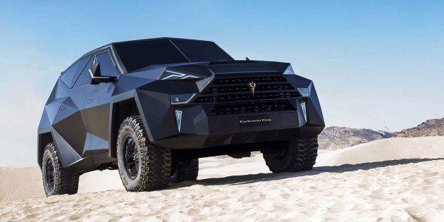 Ce SUV de Karlmann King à 3,8 millions de dollars (US) est le plus cher au