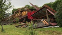 Les images des tornades et de la grêle qui ont touché le Grand