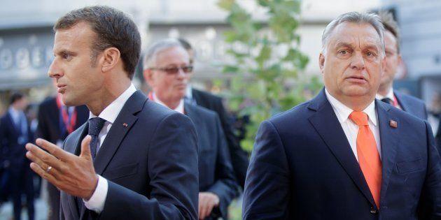 Emmanuel Macron et Viktor