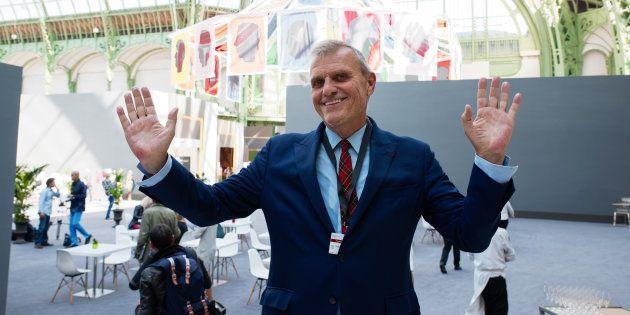 Jean-Charles de Castelbajac lors de la 30 édition de la Biennale des Antiquaires VIP au Grand Palais...