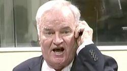 Ratko Mladic hurle et se fait sortir du tribunal avant l'énoncé de son