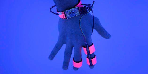 Ce gant veut vous rendre conscient de vos
