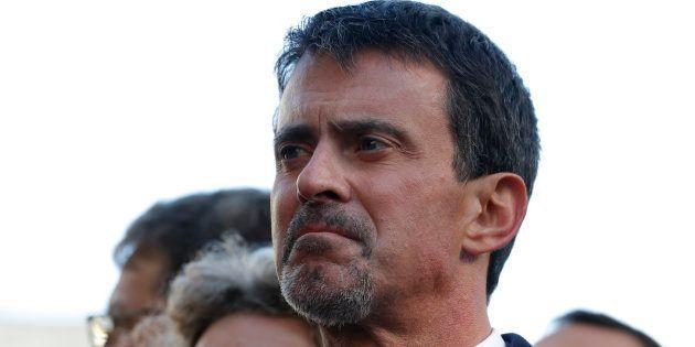 Manuel Valls à Paris le 13 novembre