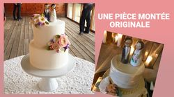 Rendez votre gâteau de mariage original grâce à ces