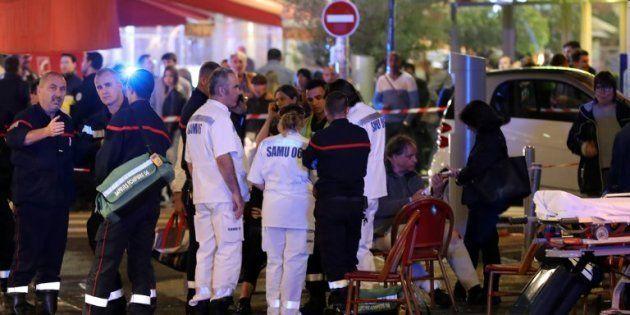 Scènes de panique à Nice après un tir de pistolet d'alarme, des blessés