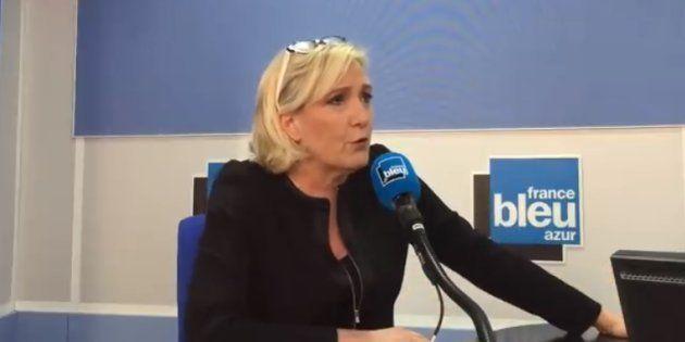 1er mai 2018: Estrosi dénonce le meeting de Le Pen à Nice, elle le traite de
