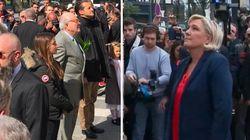 Les images des Le Pen père et fille rendant hommage à Jeanne d'Arc chacun de leur