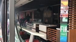 Les images de la destruction d'un McDonald's par des militants black blocs à