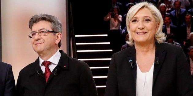 Mélenchon et Le Pen d'accord pour pointer des milices (mais pas du même