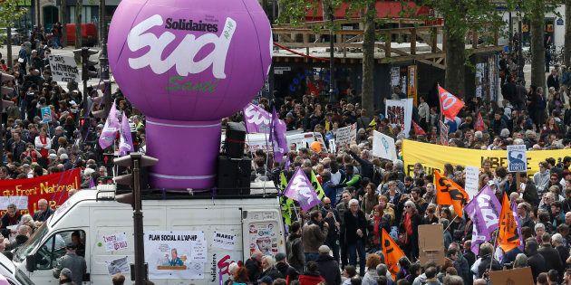 Fête du travail: 143.500 personnes ont manifesté en France selon les autorités, 210.000 selon la