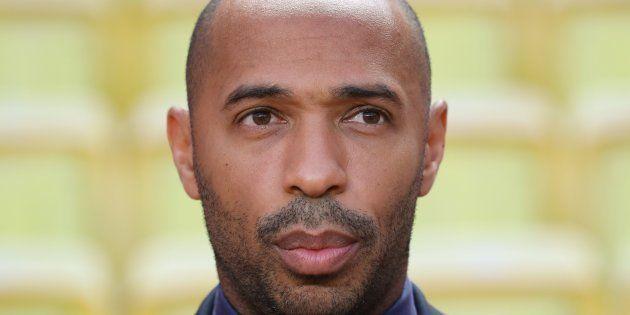 Thierry Henry lors du match de Ligue des champions AS Monaco-Atlético Madrid le 18 septembre