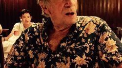 Jean Dujardin pleure son