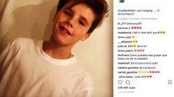 Les fans de Cruz Beckham voient en lui le futur Justin