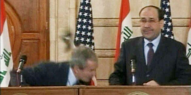 L'homme qui avait jeté sa chaussure sur Bush est candidat aux législatives en