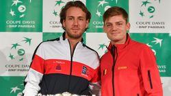 Adversaires en Coupe Davis, Pouille et Goffin partiront en vacances ensemble après la